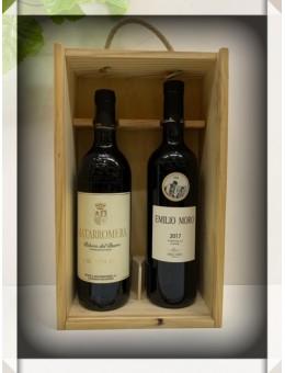 Estuche vino Ribera del Duero