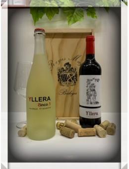 Estuche vino Yllera