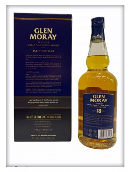 Whisky Glen Moray 18 años