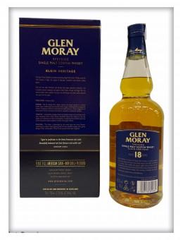 Whisky Glen Moray 18 años